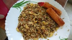 Home made fried rice