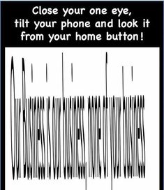 It really works Brain Illusions, Optical Illusions For Kids, Optical Illusions Drawings, Funny Illusions, Cool Illusions, Art Optical, Fun Mind Games, Funny Mind Tricks, Illusion Photography