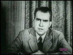 "Richard Nixon's ""Checkers Speech."""