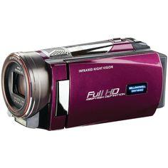 Night Vision Camcorder Bell+howell 16.0 Megapixel Rogue Dnv16hdz 1080p