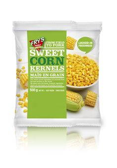 Packaging Design: Frozen Vegetables on Behance