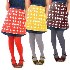 Slip into something a little more comfortable in the kitchen, with this Skinny laMinx cheeky little skirt apron.