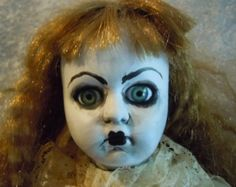 Scary Victorian Gothic Doll