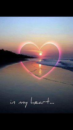 Love in my heart forever Heart In Nature, Heart Art, I Love Heart, Happy Heart, Heart Images, Heart Pictures, Love Wallpaper, Belle Photo, Scenery