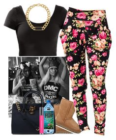 """."" by jaziscomplex on Polyvore featuring Nicki Minaj, Marc by Marc Jacobs, UGG Australia, Michael Kors and shu uemura"