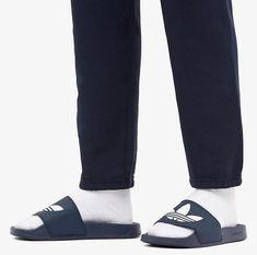 Slide Sandals, Men Sandals, Sweatpants, Fashion, Over Knee Socks, Men, Sandals, Mens Slip On Slippers, Moda