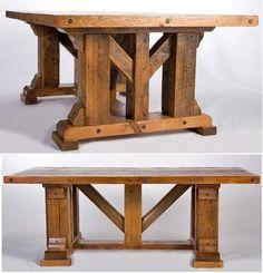 barnwood dining table timber frame design 1 item dt00105 16 standard colors