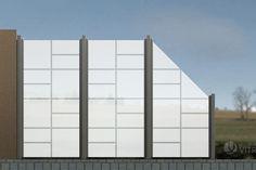 VITRAGO - Glaszäune Online-Shop, Lite-Edition LGP-1602-Z, beidseitige Sandstrahlung