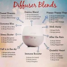 Fabulous diffuser blends!