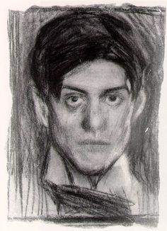 Pablo Picasso self portrait, (1900)
