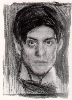 Pablo Picasso self portrait, (1900)