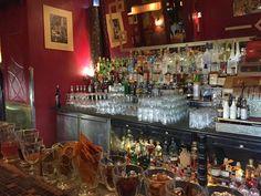Cocktail Wonk: Bar Notes: Tretter's (Prague) Prague Nightlife, Vintage Cash Register, New York Bar, Bar Counter, Bartender, Night Life, Cocktails, Notes, Craft Cocktails