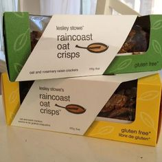 Healthy Food Find! For those of you following a gluten-free diet, these Raincoast Oat Crisps taste great paired with a low-fat spreadable cheese. Six crackers have only 140 calories and are packed with 4 grams of fiber. Give 'em a try!