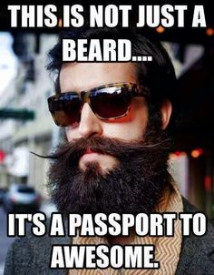 Passport to awesome...