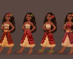 Here's Your First Look at Moana Costume Concept Art   [ http://di.sn/6006BfgRM ]