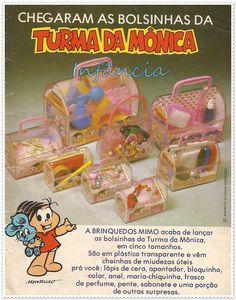 Bolsinhas da Turma da Mônica #nostalgia