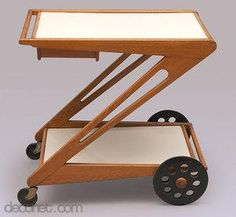 Tea trolley by Cees Braakman at Decopedia
