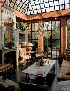 fabulous solarium, love the windows and roof