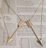Arrow Collar Necklace | Erica Weiner