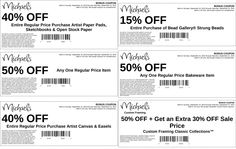 Pinned September 15th: 50% off a single item and more at Michaels #coupon via The Coupons App