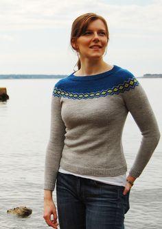 Saint Remy pullover - fair isle - Knitty