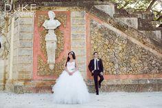 Lovella bride Kristin in @Ines Di Santo wedding ball gown / Photo by Duke Photography