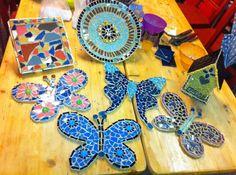 workshop mozaiek bedrijfsuitje bruna bij expres-zo in utrecht