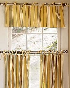 DIY cafe curtain