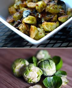 Roasted Brussels Sprouts & Bacon