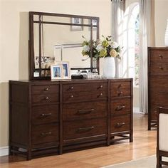 Tranquility Dresser And Mirror