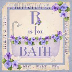 B IS FOR BATH BY KATHY HATCH