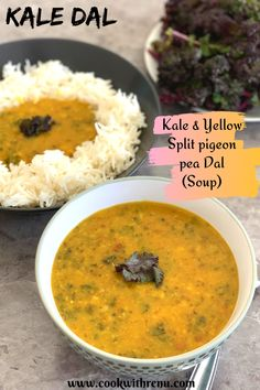 Kale Toor Dal is a healthy, comforting dal that can be enjoyed as is like a soup on cold days or goes well with roti or rice. . #CookwithRenu #Dal #WinterVeggies #Kale #VeggiesinDal #Kidsfood #Healthy… More North Indian Recipes, Indian Food Recipes, Easy Recipes, Indian Soup, Indian Dishes, Best Vegetarian Recipes, Food Festival, Kid Friendly Meals, Winter Food