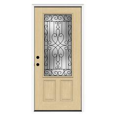 Oval Glass Door With Side Lite Front Doors Pinterest