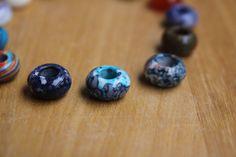Dyed Jade Dreadlock Gemstone Beads www.mountaindreads.com