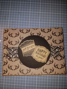 John's Birthday Card