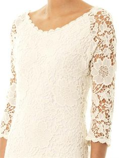 Velvet by Graham & Spencer Leslea crochet dress