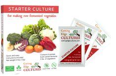 Vegetable fermenting starter- Cutting edge cultures