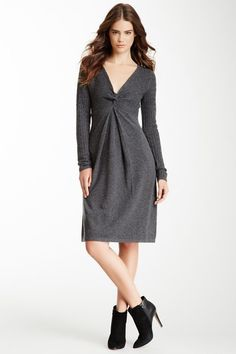 A-Line Wool Blend Dress by Philosophy Cashmere $129, down from $358. js
