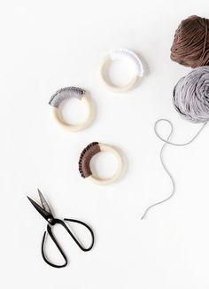 Faire un anneau de dentition au crochet -