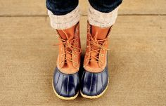 duck boots | Tumblr