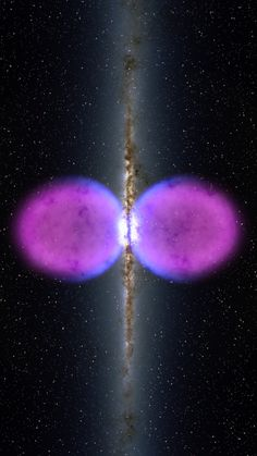 A Previously Unseen Structure Centered In The Milky Way. The Feature Spans 50,000 Light Years & May Be The Remnant Of An Eruption From A Super-Sized Black Hole At The Center Of Our Galaxy - NASA/Goddard Space Flight Center