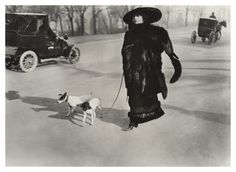 Jacques-Henri Lartigue Avenue du Bois de Boulogne, Paris 1911