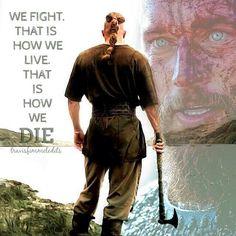 We fight. ...