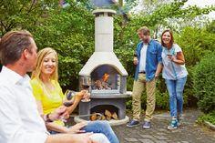 Gardenplaza - Hochwertige Grillkamine sorgen für Grillgenuss und Kaminromantik - Mit einem Allround-Feuerplatz doppelt genießen