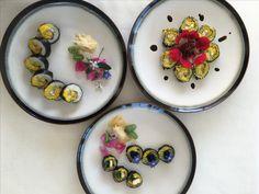 Vegetariska sushi från en av våra yoga retreat på Salthamn. #salthamn #Gotland #yogafood #yogagotland #mindfulnessgotland #villasalthamn #vegetarisksushi #vegansushi