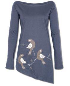 SoulFlower-SALE! Organic Mockingbirds Tunic-$28.00