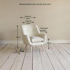 Arm Chair Berlin – Retro Upholstered Armchairs Online Berlin Armchair in dusk vintage linen - Armchairs | The Sleep Room