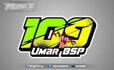 Number Typo Design, Design Art, Graphic Design, Logo Sticker, Sticker Design, Rc Logo, Motorcycle Stickers, Game Logo, Sports Logo