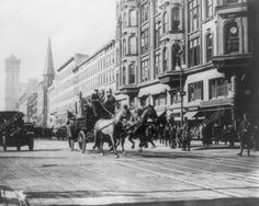 Horse Drawn Fire Engine New York 1910s 8x10 Reprint of Old Photo | eBay