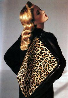 Anne Klein, American Vogue, September 1989.